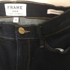 Frame Denim Jeans in Le Skinny de Jeanne. Size 26
